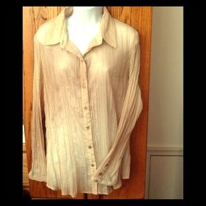Coldwater Creek blouse size 18